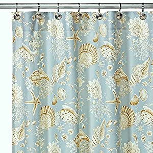 61wyCn8mDfL._SS300_ 200+ Beach Shower Curtains and Nautical Shower Curtains