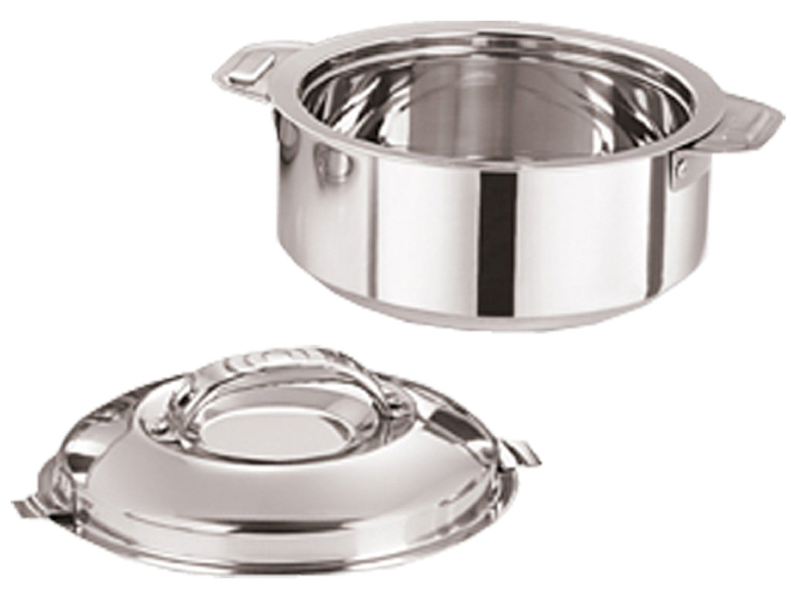 Kuber Industries Casserole/HotPot,chapati Box/chapati Container/hot case in Stainless Steel 3500 ML (Cass32)