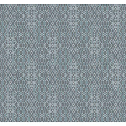 York Wallcoverings DI4754 Dimensional Artistry 60-3/4 Square Foot - Smoke & Mirrors - Pre-Pasted Paper Wallpaper