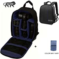 Brain Freezer J Universal DSLR SLR Camera Lens Shoulder Backpack Case for Canon Nikon Sigma Olympus Camera Dark Blue