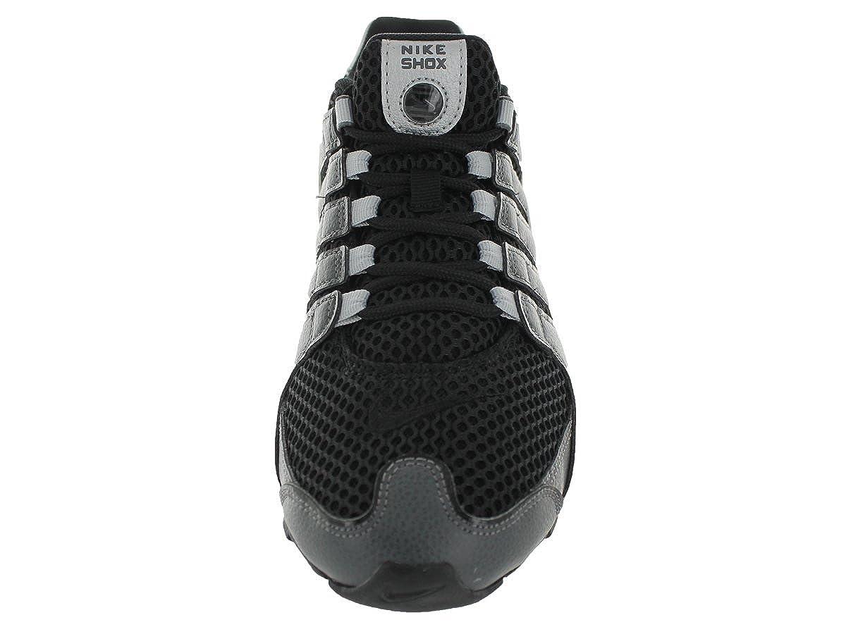 reputable site 09bd4 4dff0 Nike Men s Shox NZ Black Black Mtllc Slvr Drk Gry Running Shoe 8 Men US   Amazon.de  Schuhe   Handtaschen