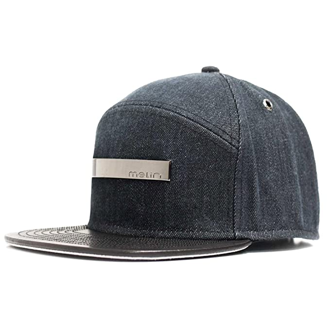 buy popular f9bfc b054c Melin Brand quot The Bar Mercury quot  Strapback Hat (Grey) Men s Japan ...