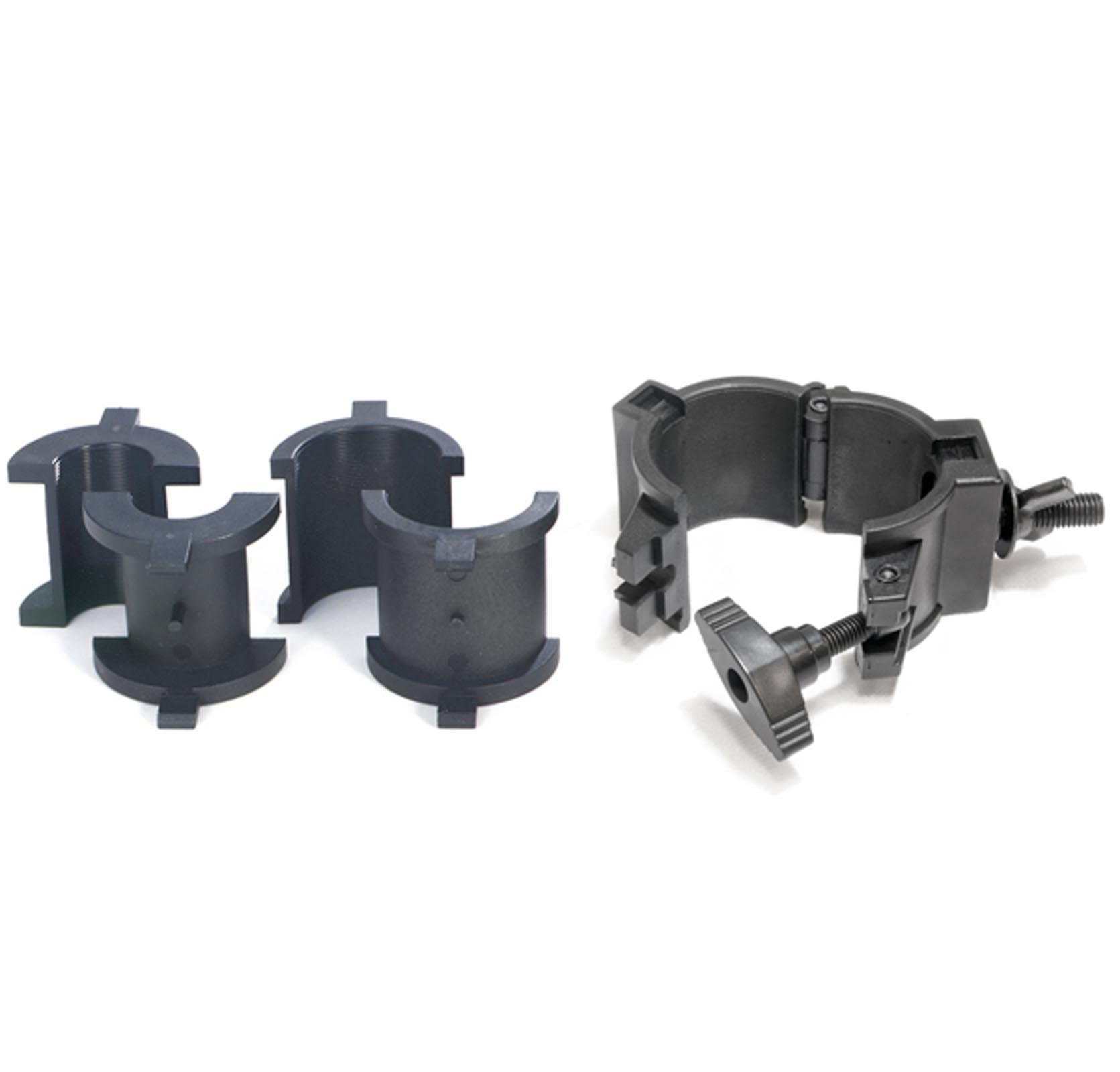 Chauvet 360° Wrap Around O-Clamps Truss Light Mounting - 75 lb Capacity (8 Pack)