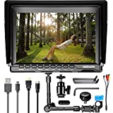 Neewer NW759 7 inches HD Monitor and Magic Arm with 15mm Rod Clamp, 1280x800 IPS Screen Camera Field Monitor with 16:10 or 4:3 Adjustable Display Ratio for Sony Canon Nikon Olympus Pentax Panasonic