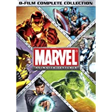 Marvel Animated Features: 8-Film Complete Collection (2012)
