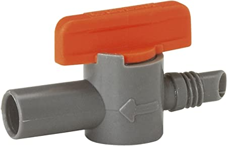 "2x Gardena MDS Absperrventil 3//16/"" 4,6 mm 8357 Micro-Drip-System"