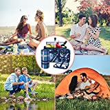 Hap Tim Picnic Basket Set for 2 Persons with Large