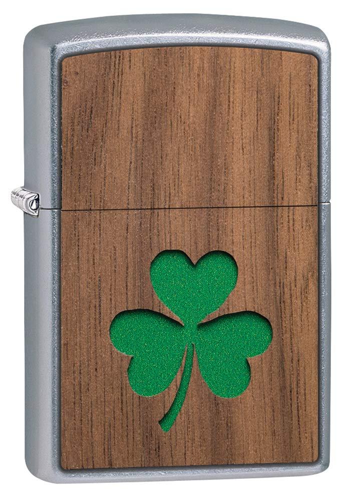 Zippo Woodchuck USA Clover Pocket Lighter