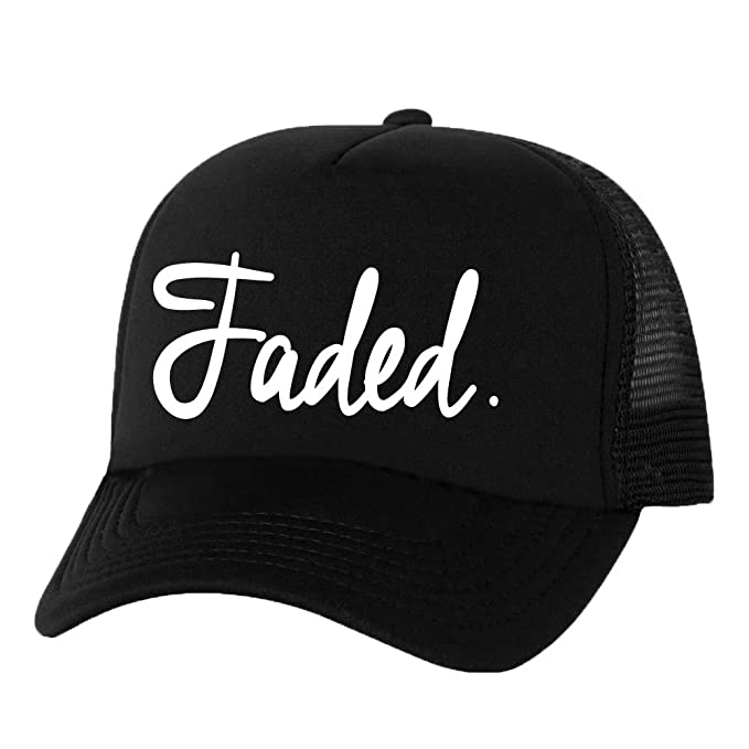 FADED. Truckers Mesh snapback hat - One Size at Amazon Men s ... 7ae3add4d15