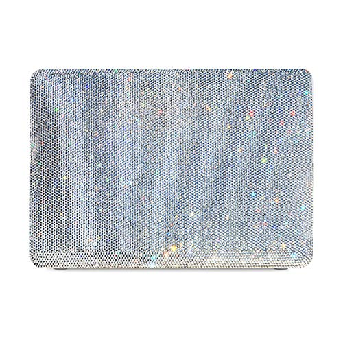 MacBook Air 13 Inch Case 2018 Release A1932, 3D Rhinestone Hard Case, Diamond Effect Bling Glitter Handmade Hard Shell Case Cover for MacBook Air 13 Inch & Retina Display Fits Touch ID ()