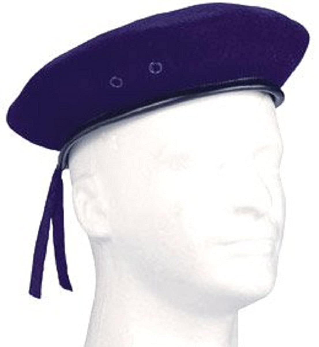 4916 Military Navy Blue Beret (Size 7.75)