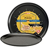 Ibili 821928 - Molde Pizza 28 cm antiadherente Moka