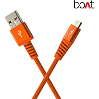 boAt Rugged V3 Braided Micro USB Cable (Molten Orange)