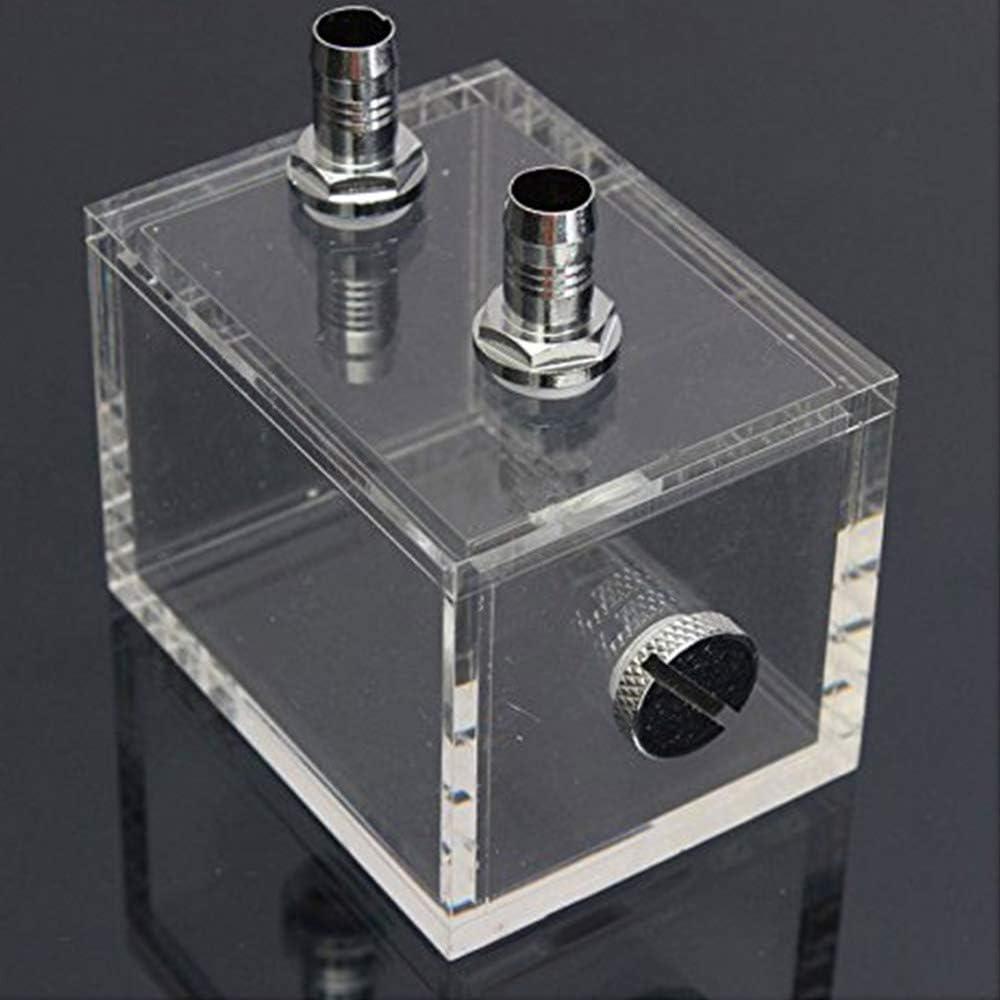 tatoko 200ml Acrylic Water Tank Cooler Water Cooling Radiator Pc CPU Water Block