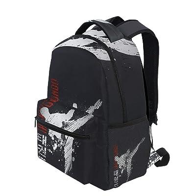 Autumn Mushroom Backpack Fashion Laptop Daypack Travel Backpack for Women Men Girl Boy Schoolbag College School Bag