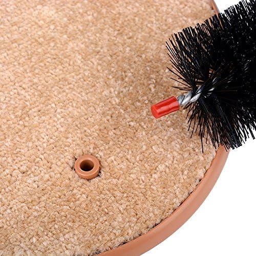 Buyter Masaje Gatos Rascarse Picaz/ón Cepillos Dise/ño Creativo Mascotas Herramientas para el Cabello Cuidado de la Belleza Cepillo Cerdas Arco