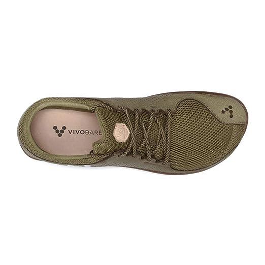 fe48a2d38c Amazon.com  Vivobarefoot Men s Primus Trio Leather - Olive - 46  Health    Personal Care