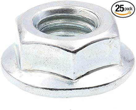 Prime-Line 9090855 Serrated Flange Bolt Zinc Plated Case Hardened Steel Pack of 25 5//16 in-18 X 1//2 in
