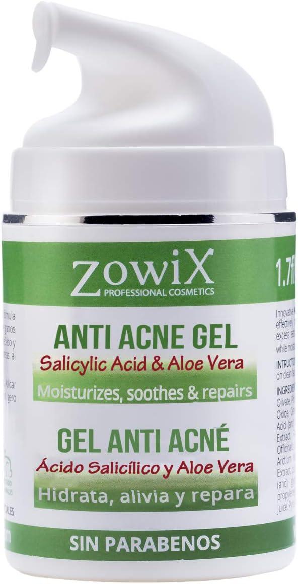 Pasa el ratón por encima de la imagen para ampliarla ZOWIX Gel Antiacne