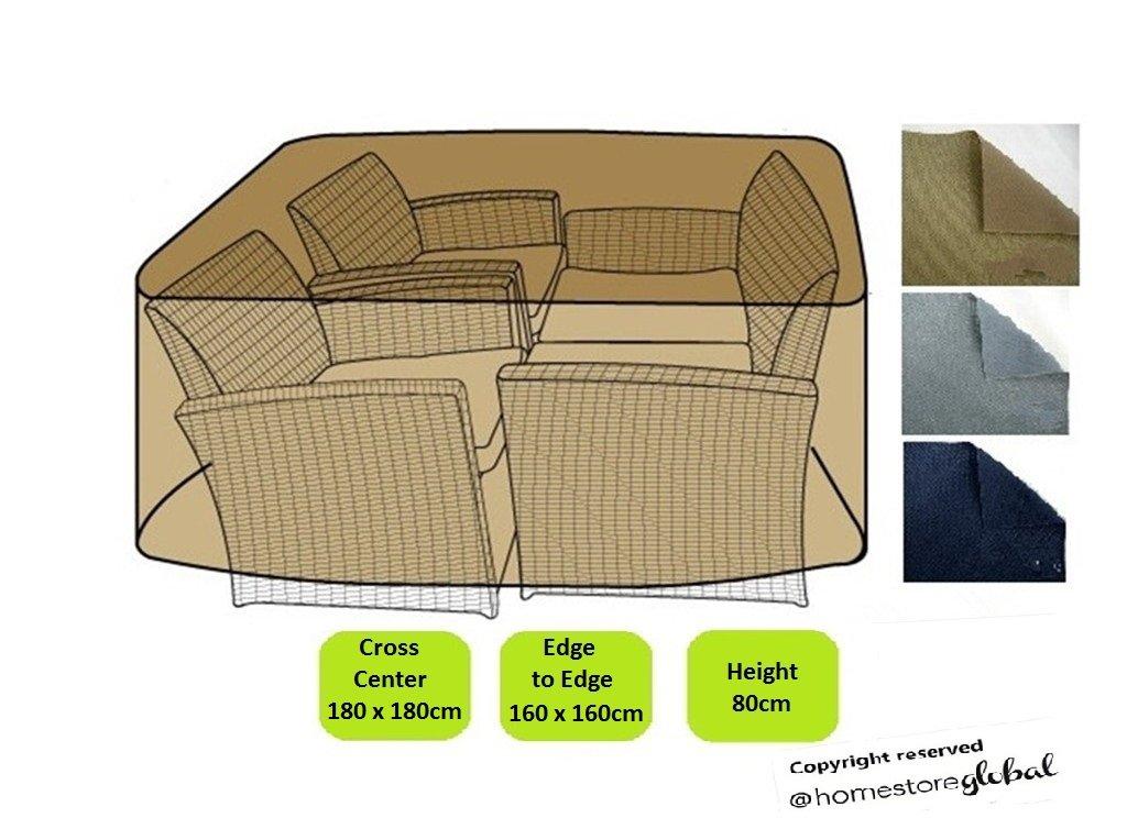 HomeStore Global Funda para grande ratán muebles conjunto - Gruesa y ...