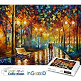 Ingooood Rainy Night Walk paper puzzle 1000 pieces