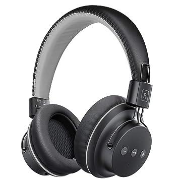 Mpow H1 Auriculares Bluetooth Diadema, Cascos Bluetooth Inalámbricos, Auriculares Inalámbricos Over-Ear Plegables con Micrófono Incorporado, Wireless ...