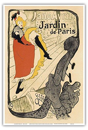 Jardin de Paris; A show by Jane Avril at the Cabaret Dance Hall