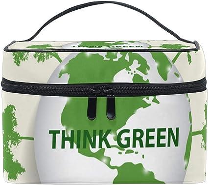 FANTAZIO - Organizador de maquillaje barato THINK GREEN: Amazon.es: Belleza