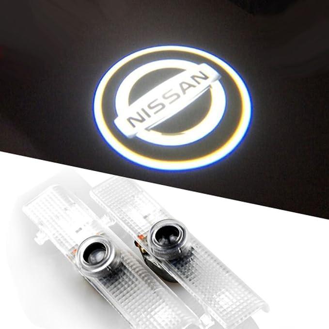 bailongju Nissan fácil instalación LED para puerta de coche logo ...
