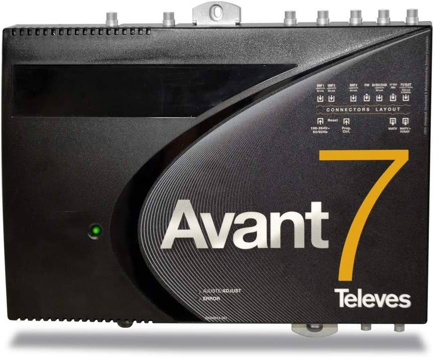 CENTRAL PROGRAMABLE ANTENA AVANT 9 BASIC 10 FILTROS LTE
