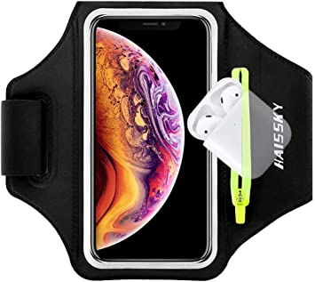 Guzack Brazalete Deportivo,Brazalete Correr Móvil para iPhone 11/11 Pro/XR/XS max/8/7/6s, Samsung Galaxy A 50s/A 30s/ S10/S10/S9/S9/ S8/S7 hasta 6.5