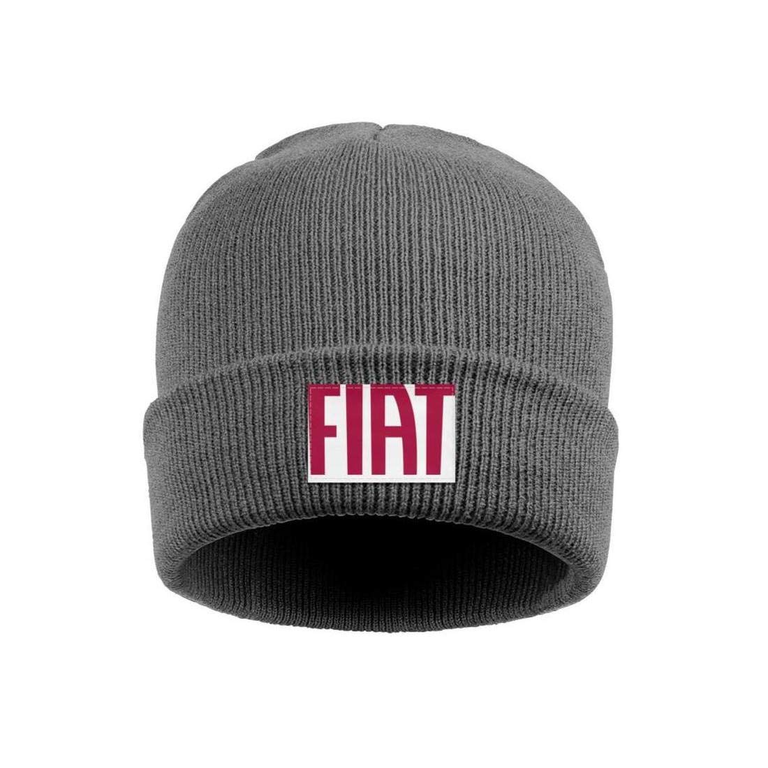 Mens Womens Beanie Hats Fiat-Automobiles-Logo Winter Knit Cap