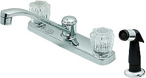 EZ-FLO 10117LF Two-Handle Kitchen Washerless Faucet