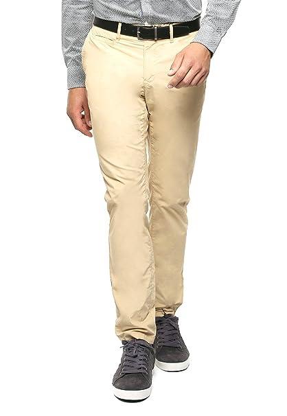 1429540b04cfb TOMMY HILFIGER Pantalón Beige Pantalones para Hombre Beige Talla 36 ...