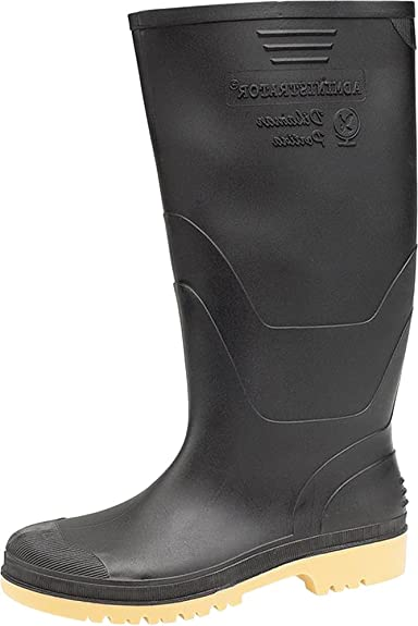 New Mens Dikamar Administrator Wellington Boots Ribbed SlipOn Plain Welly  Shoes Amazoncouk Shoes  Bags