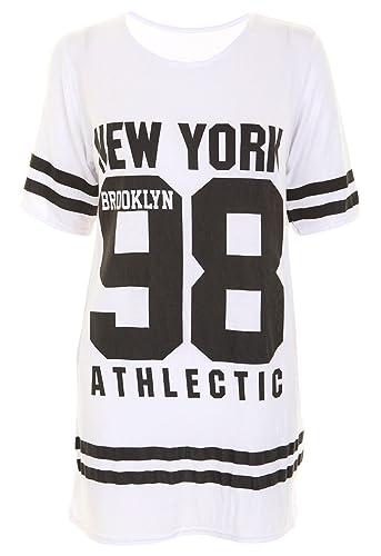 7 Fashion Road - Camiseta para mujer de manga corta holgada y amplia, talla grande