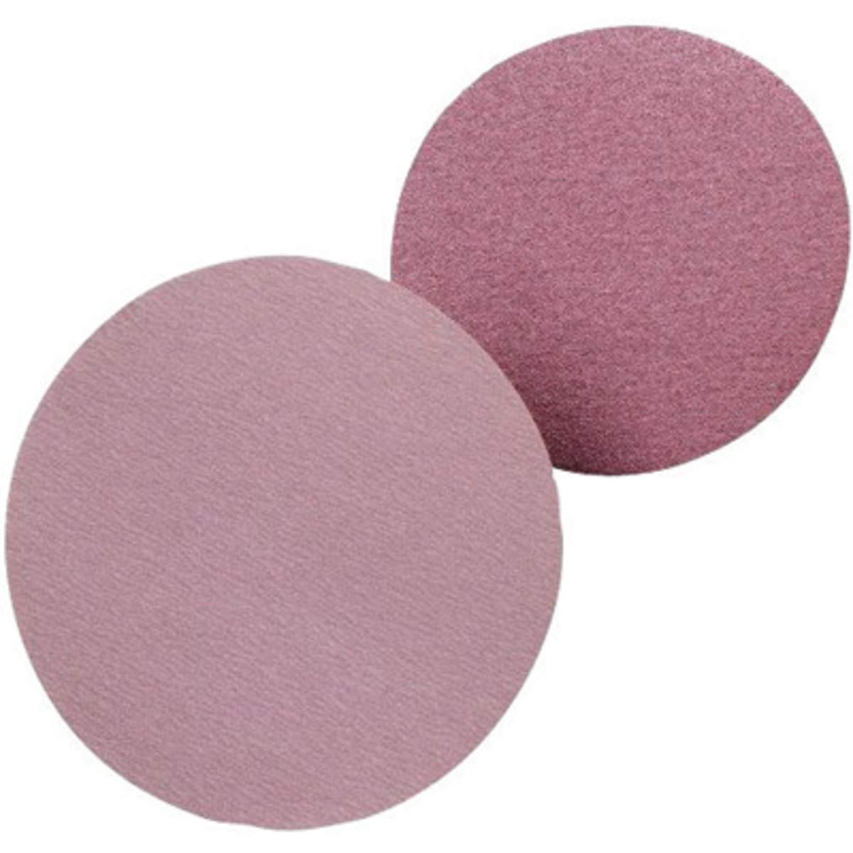 United Abrasives 5'' 40F Grit Z-F Sait Zirconium Sanding Disc With Hook And Loop Attachment - 50 Each/Box