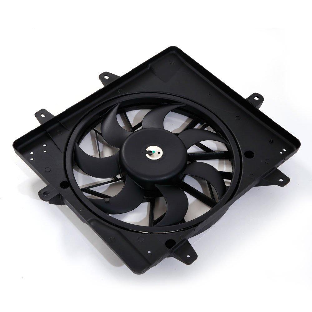 Radiator Cooling Fan Motor Assembly for PT 01-05 Chrysler Cruiser 2.4L w//o Turbo