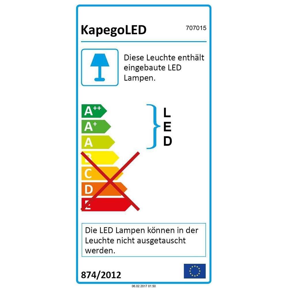 wei/ß mattiert EEK: A LED 3-Phasen Strahler LINEAR 60 4000K IP20 110-240V 20W