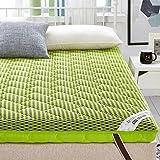 HYXL Breathable Thicken floor mattress,Memory foam Floor tatami mat Double face Sleeping mattress Padded bed tweezers Pad mat Japanese futon-C 90x200cm(35x79inch)