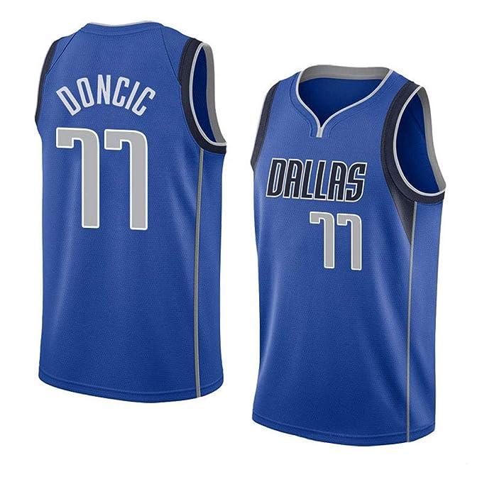 Dallas Mavericks Doncic #77 Basketball Jersey Camiseta para ...