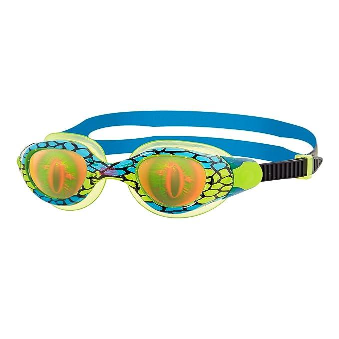 Sea Demon Gafas de natación, Niños unisex, verde / azul / holograma, 6-14 años: Amazon.es: Deportes y aire libre