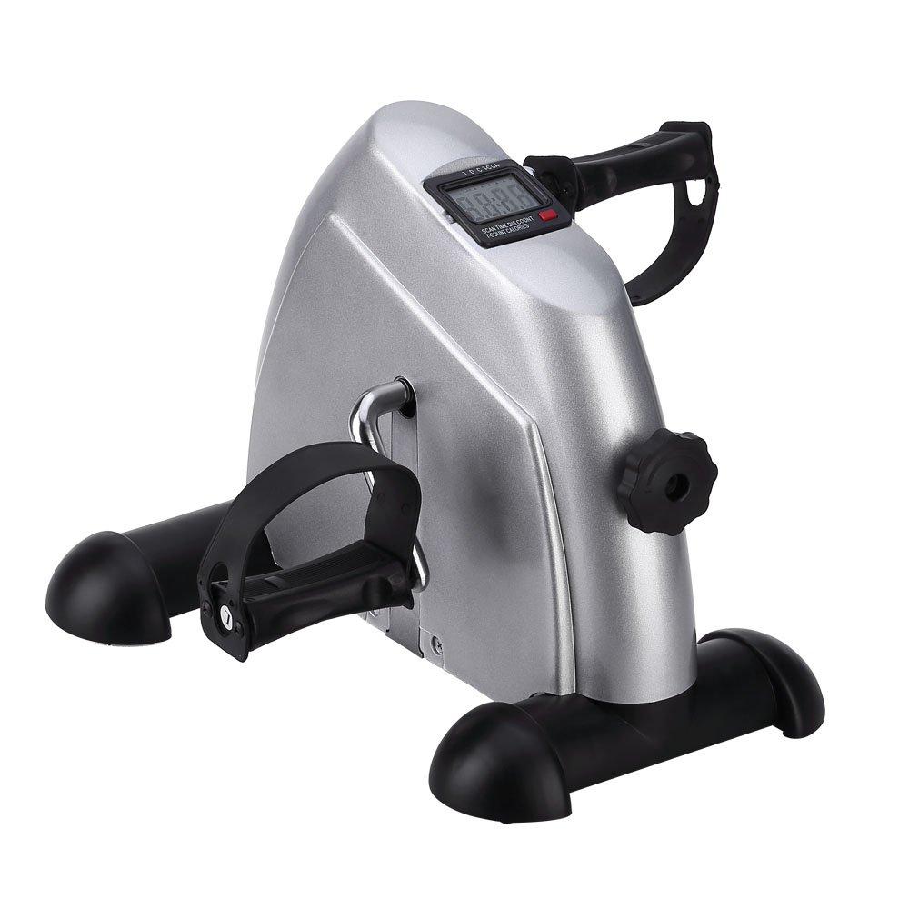 Mini Bike Heimtrainer Bewegungstrainer Arm- und Beintrainer Pedaltrainer für Senioren und Junge mit LCD-Monitor Einstellbarer Widerstand Limi International GmbH