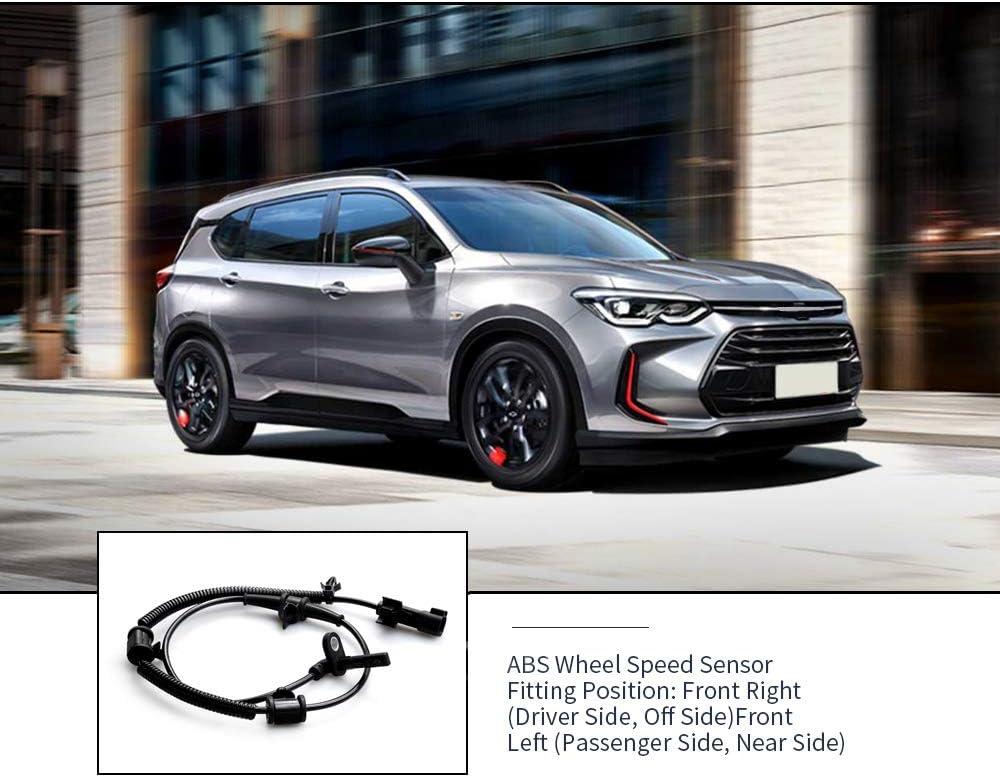 Sensor de velocidad de rueda ABS para Vauxhall Insignia Mk I delantero izquierdo o derecho 12841616 1247310 12848538;