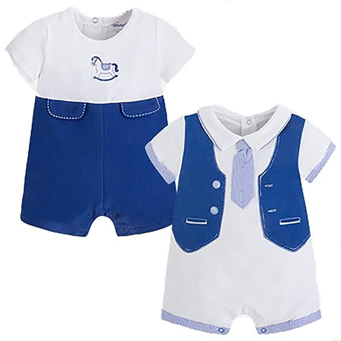 Mayoral - Pelele para Dormir - para bebé niño Bianco 6-9 Meses: Amazon.es: Ropa y accesorios