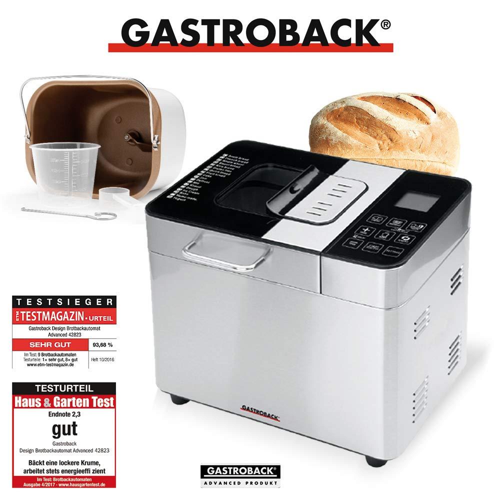 Gastroback - Panificadora con recipiente para helados: Amazon.es ...