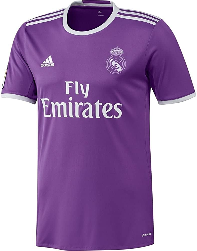 adidas 2016-2017 Real Madrid Camiseta de fútbol (niños), 11/12 Years - US Medium Boys - 30-32