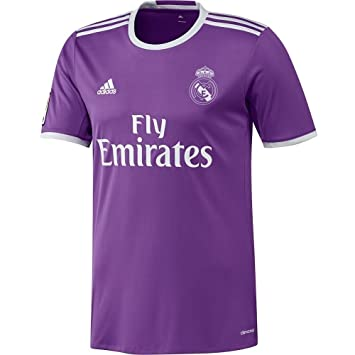 Adidas 2016-2017 - Camiseta del Real Madrid, 7/8 Years - US