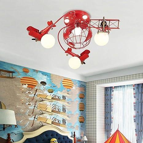 Kinderzimmer Junge Raumdeckenleuchte LED kreative Karikatur