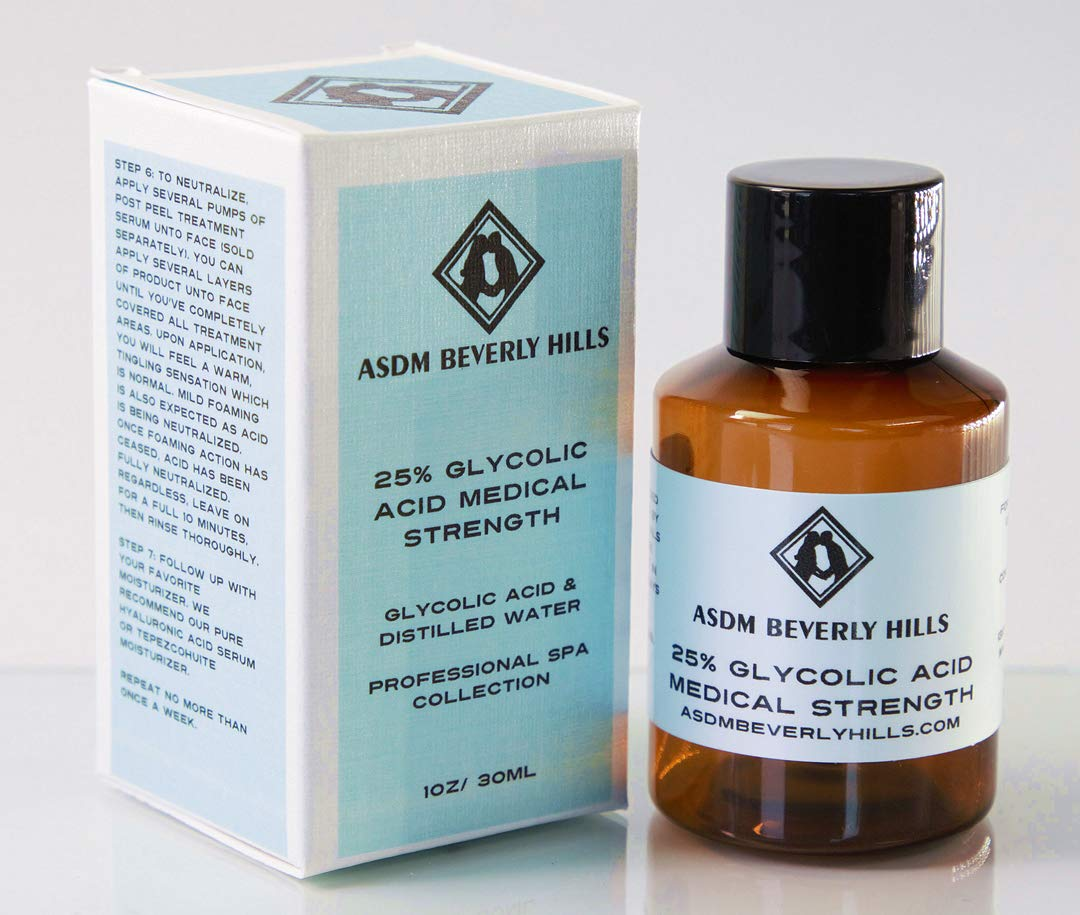 ASDM Beverly Hills 25% Glycolic Acid Peel, 1 Ounce
